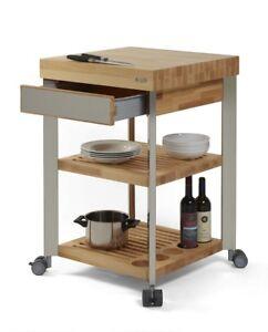 Legnoart carrello cucina isola lavoro 60 x 60 cm h 95 - Isola lavoro cucina ...