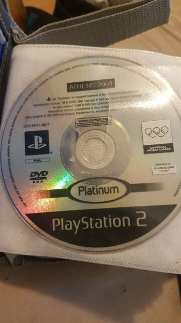 Athens 2004 (Sony PlayStation 2, 2004) disc only (no cover or booklet) free post