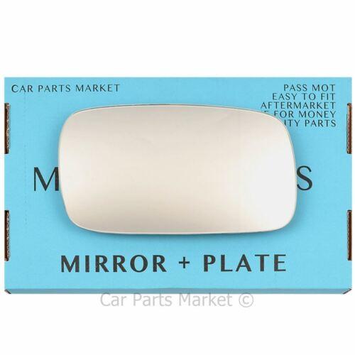 Plaque Côté Droit Plat Aile Porte Miroir Verre pour vw passat b3 b4 88-97