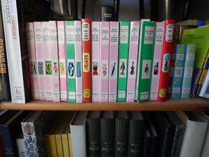 Details Sur Livre Lot De 21 Livres Pour Enfant Bibliotheque Rose Verte Etc