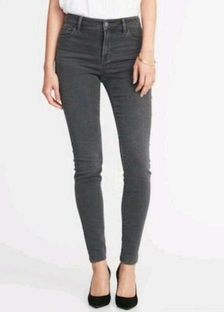 64dd38ce52f Old Navy Mid-rise Rockstar Super SKINNY White Jeans Size 18 for sale ...