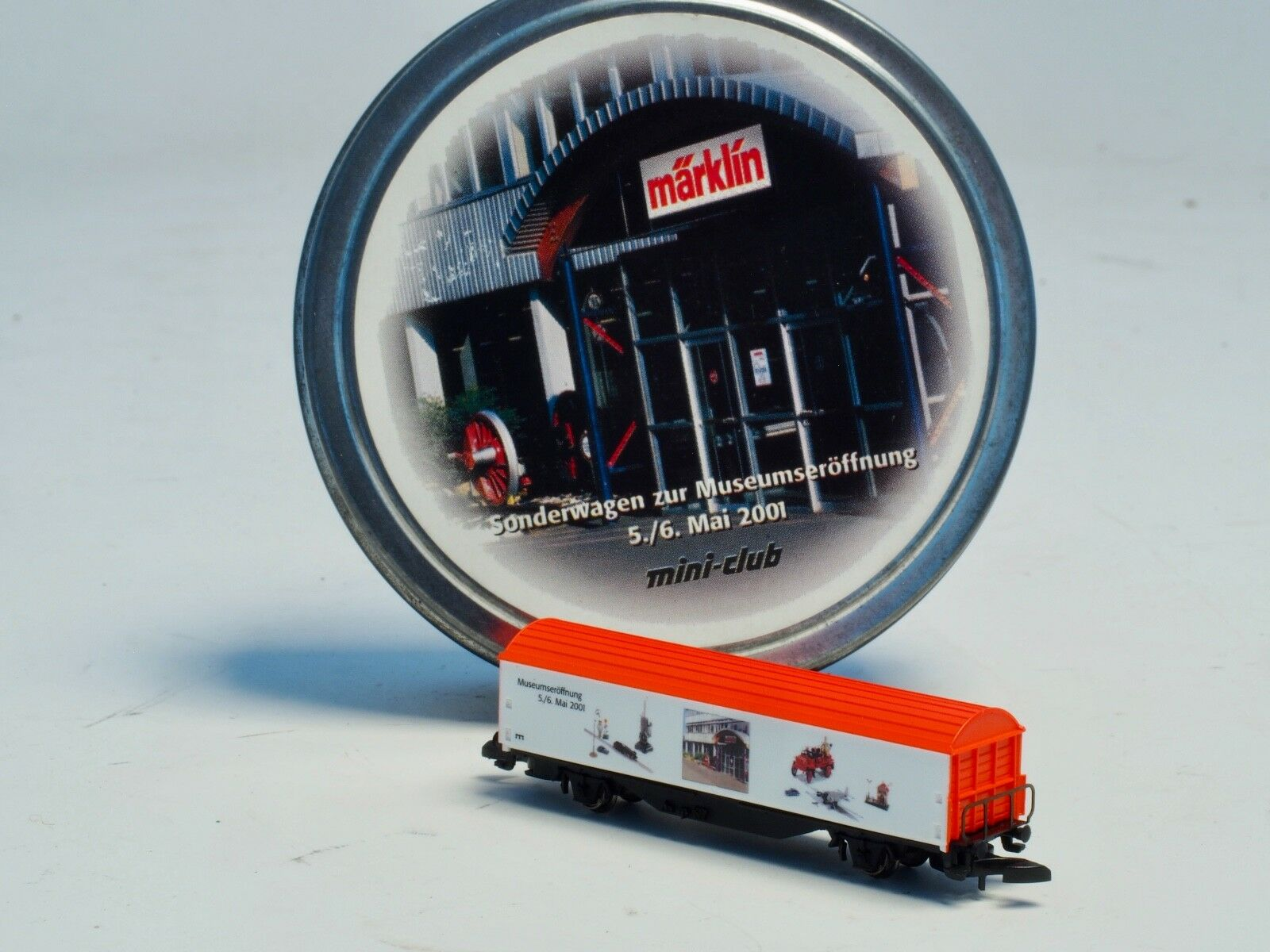 Z-scale Special car for the opening of the New New New Marklin Museum 2001 Sp.Ed. 117103