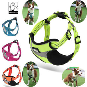 Truelove-Dog-Harness-No-pull-Adjustable-Widening-Reflective-Padded-Vest-All-Size