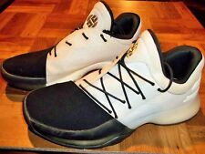 9636906b74ba94 adidas Harden Vol.1 James Disruptor White Black Men Basketball Shoes ...
