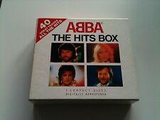 ABBA - THE HITS BOX - Original 3 CD Box © 1992 #BOX D1