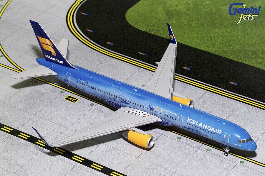 online barato Gemini Jets 1 200 escala Icelandair 757-200 757-200 757-200  80th aniversario  Transformers-Abeto G2ICE676 En Stock  Esperando por ti
