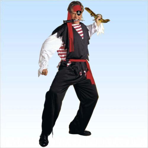 Piratenkostüm Kostüm Pirat Gr S-XL Seeräuber Kapitän Karnevalskostüm Hook
