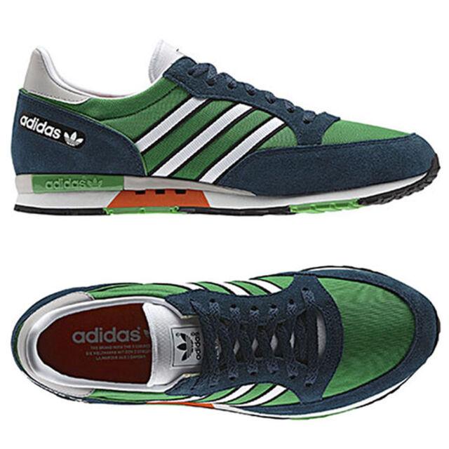 adidas Originals Phantom Retro Herren Sneaker Freizeit Schuh grün/blau