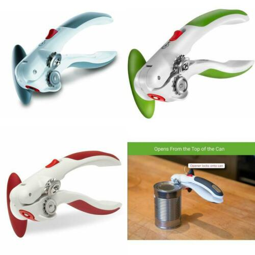 Manual Can Opener with Lid Lifter Magnet