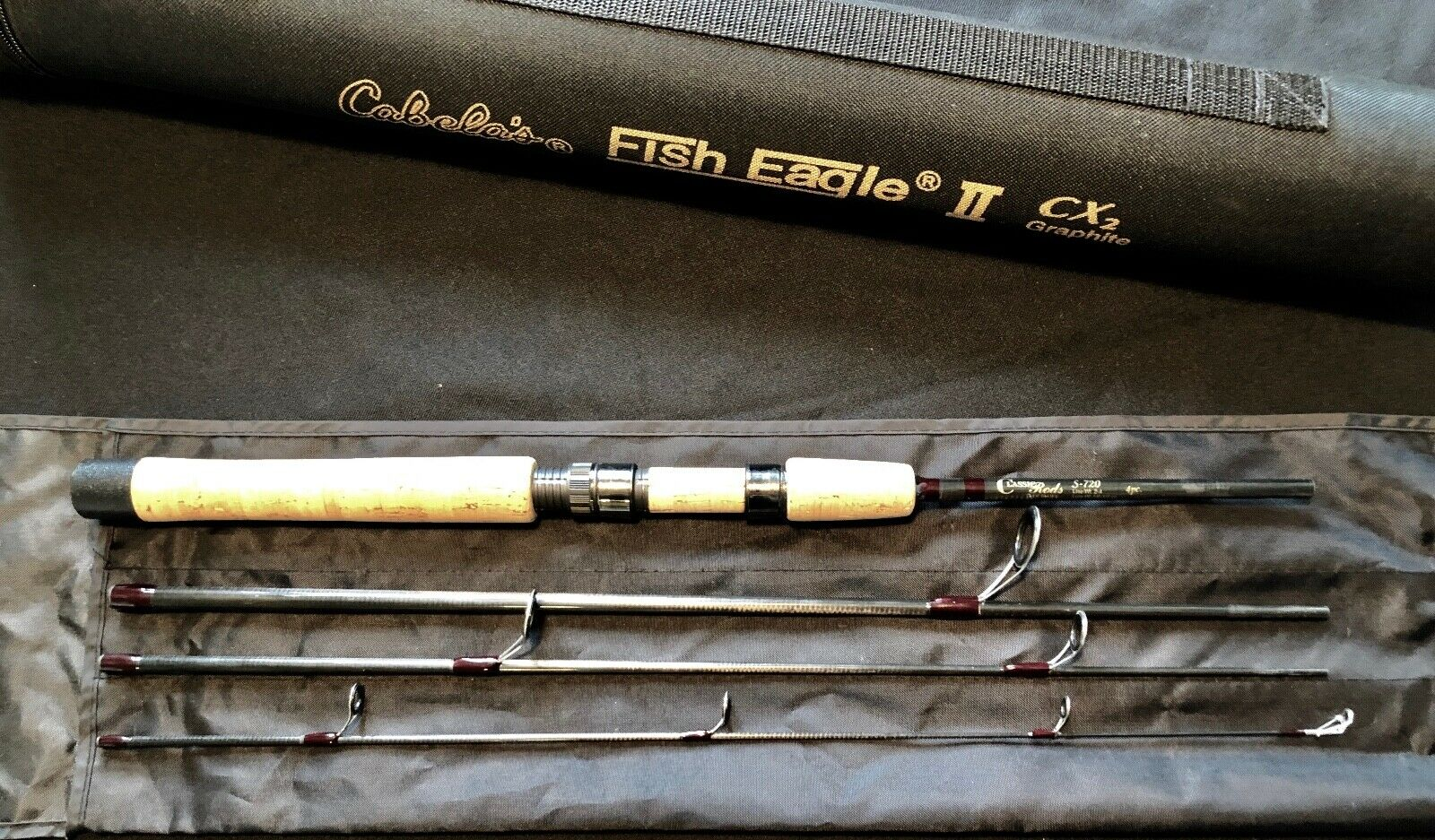 Classic Rods of Idaho 4pc Spinning rod minty  Ken Smith - Batson Enterprises