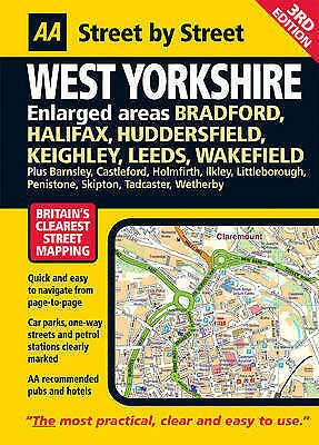 (Good)-AA Street by Street West Yorkshire: Maxi (Spiral-bound)--0749547901