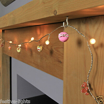 1.5M INDOOR BATTERY OPERATED CHRISTMAS SWEETS DECORATION FAIRY STRING LED LIGHTS