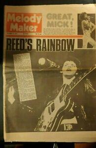 Melody Maker - Mick Jagger /Santana / Smokey Robinson / Lou Reed (Sep 15, 1973)