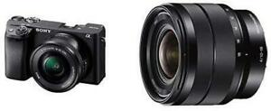 NEW Sony Alpha A6400 Mirrorless Camera E Mount Compatible with 16-50mm Lens- Ilce-6400L/B with Sony SEL1018 (7742156)... Markham / York Region Toronto (GTA) Preview