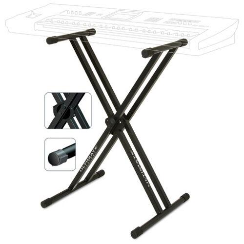 Ultimate Support Systems IQ2000 Uss Iq2000 Double Braced  X- Shape Keyboard Stan
