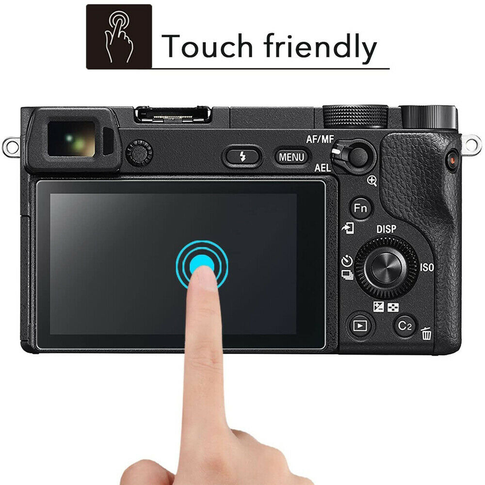 1Pc Screen Protector 9H Tempered Glass Film Fit For Sony A5000 A6000 A6300 A6400