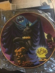 Direct Warner Brothers Batman Kelly Jones plaque de chevalier noir Mib 394 de 2500