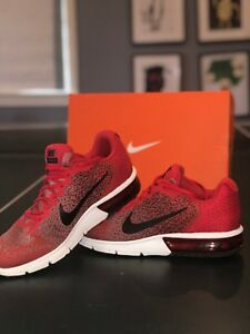 f39db119271a Nike Air Max Sequent 2 Red Black White 852461-600 Men s Running ...