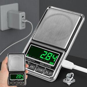 Pocket-500-1000g-Digital-Jewelry-Gold-Coin-Gram-Balance-Weight-Precise-Scale-USA