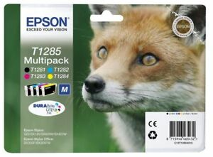 Epson-T1285-Fuchs-Original-Multipack-Druckerpatronen-4-farbig