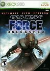 Star Wars: The Force Unleashed -- Ultimate Sith Edition (Microsoft Xbox 360, 2009)