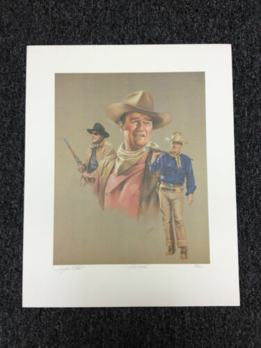 Limited Edition Print Douglas C Hart JOHN WAYNE