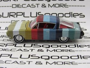 Auto-World-1-64-LOOSE-Collectible-1964-PLYMOUTH-BARRACUDA-Swatch-Diorama-Car