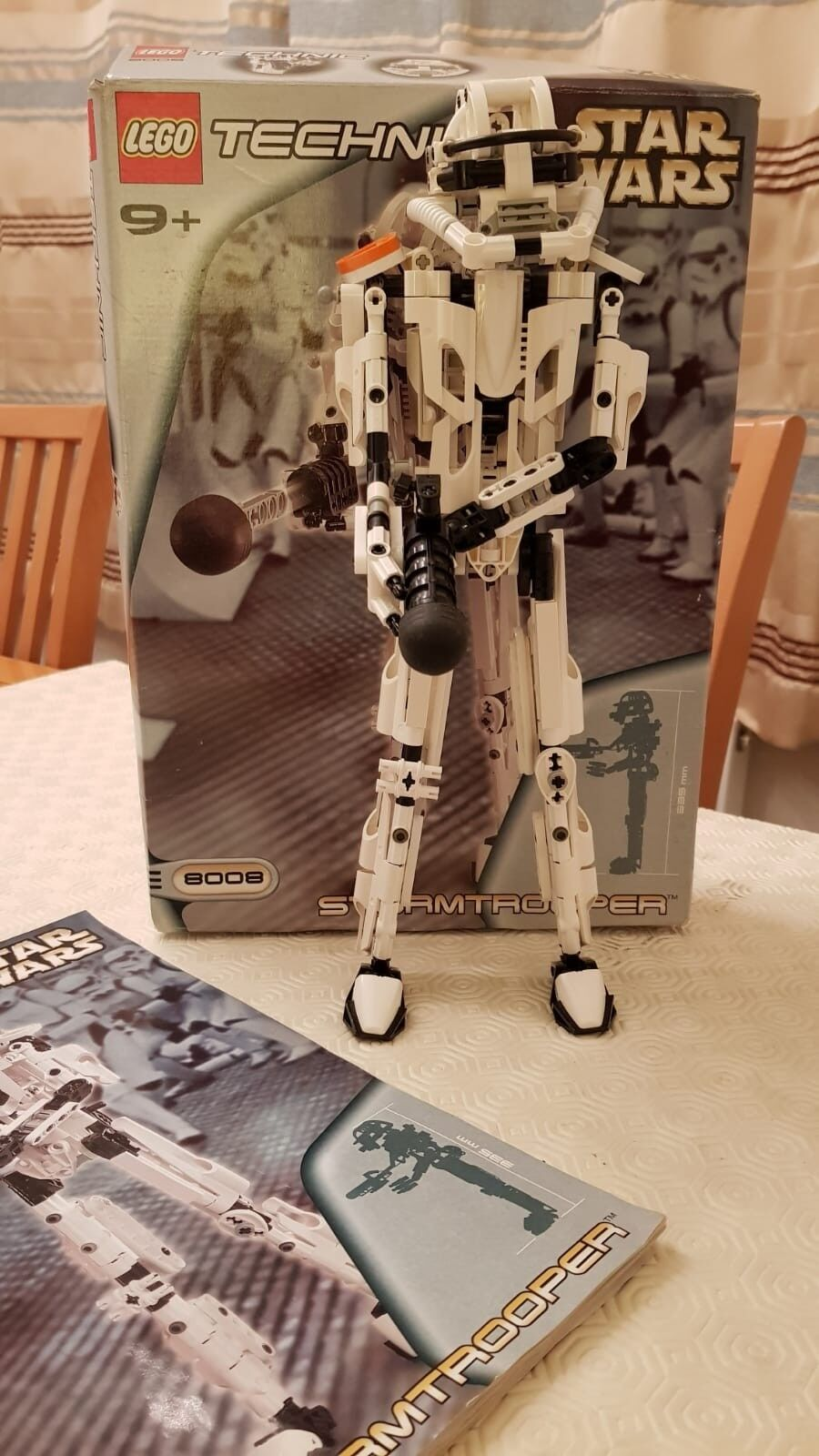 Lego Star Wars 8008 Stormtrooper complete in in in box a3331a