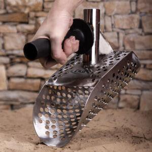 CKG Metal Detector Scoop Sifter Scoops Sand Beach Shovel Detecting with Handle