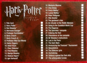 HARRY-POTTER-amp-GOBLET-OF-FIRE-Card-80-CHECKLIST-CARDS-INC-2005
