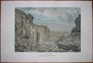 1879-Reclus-print-ALMANNAGJA-GORGE-ICELAND-80