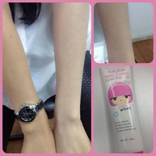 Cathy Doll Ready 2 White Whitener Body Lotion Brighten All Skin Types 150 ml