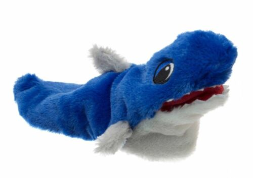 NWT Funny Cute NEW Blue SHARK Plush Slippers Toddler//Youth Size Small 5//6