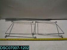 Qty 2 Per Pack 64870 Smead Steel Hanging File Folder Frame Letter Size