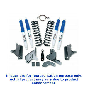 Block and ES3000 Shocks for Ford F150 4WD Standard Cab 90-96 Pro Comp K4056B 4 Stage II Lift Kit with Coil