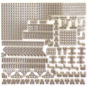 Lego-199x-Genuine-Technic-Medium-Stone-Grey-Studless-Beams-Liftarms-Bricks-NEW