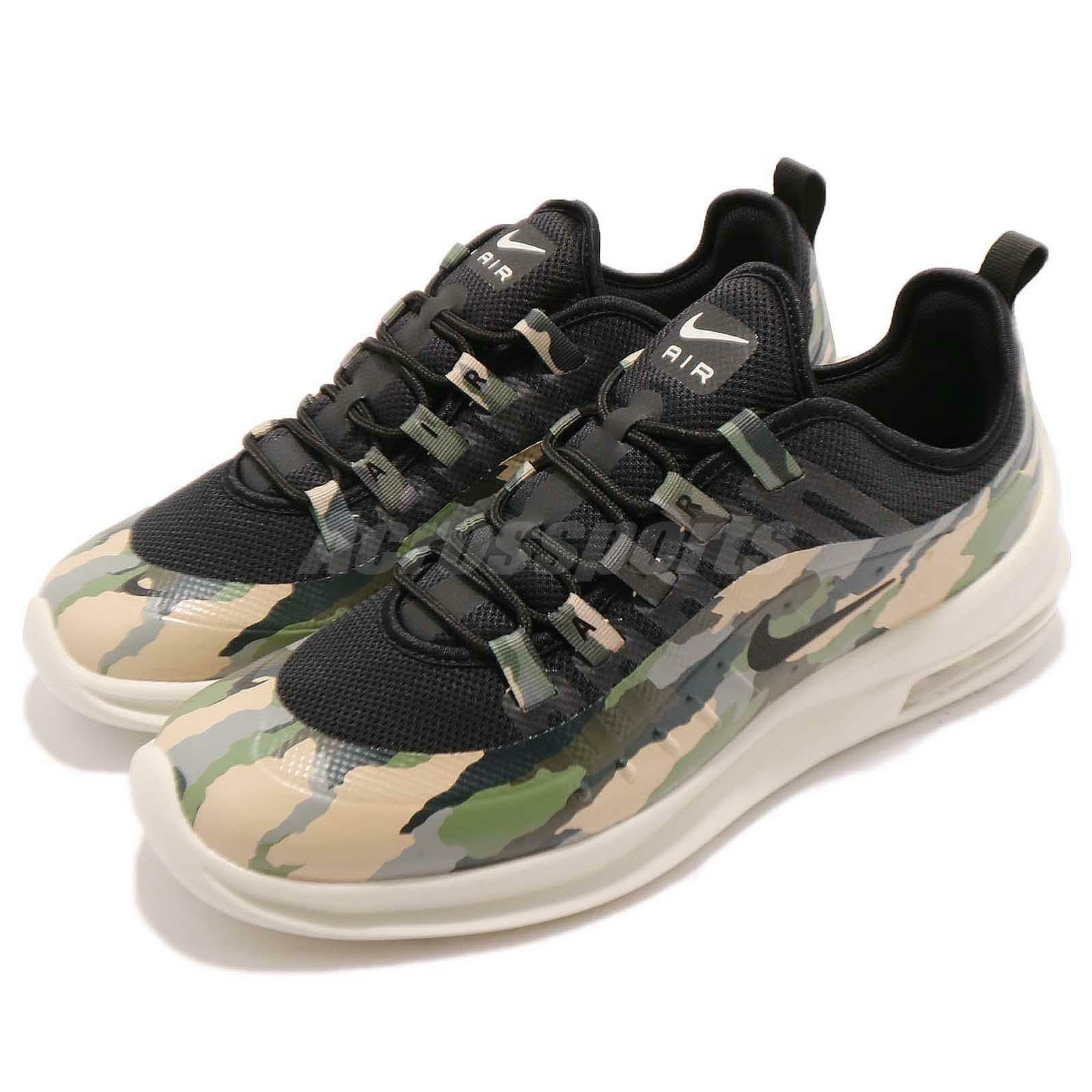 Nike Air Max Axis PREM Black Light Bone Camo Men Running Shoe Sneaker AA2148-001 The latest discount shoes for men and women