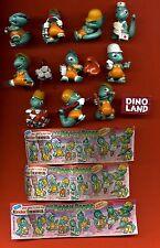 Ü--Ei--Figuren--Hartplastik--Die Dapsy Dinos-- + 3 BPZ-1995