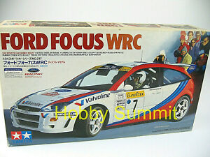 DIscountinued-Tamiya-1-24-FORD-FOCUS-WRC-MIB-Model-Kit-24217-RARE