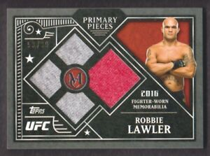 2016-Topps-UFC-Museum-Collection-Primary-Quad-Relics-PPQ-RL-Robbie-Lawler-93-99