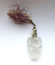 Parfümflakon Zerstäuber Flakon Silber Kristall