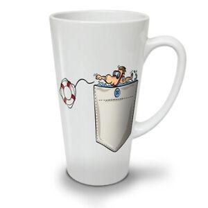 Save Life NEW White Tea Coffee Latte Mug 12 17 oz | Wellcoda