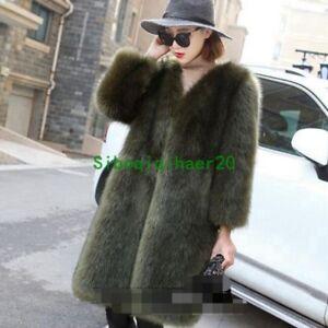 en nouvelle de Manteau Nouveau à vrai d'hiver mode Sibo renard d'hiver longue manteau de mi pour fourrure en femmes 5Xqdq