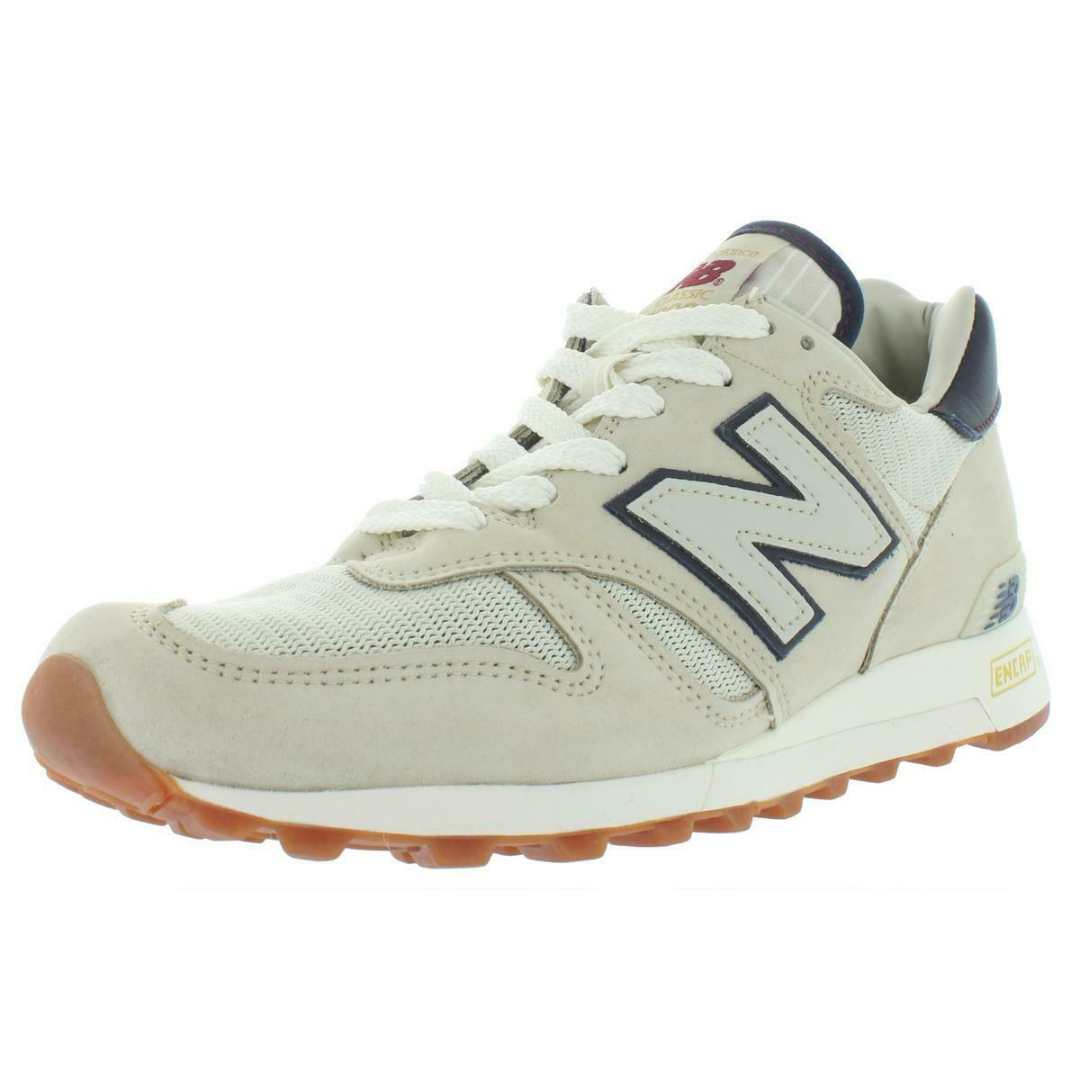 Para Hombre Beige Low Top New Balance Informal Tenis Zapatos 9 mediano (D) BHFO 9015