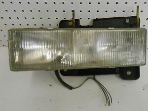 Chevy-C1500-Headlight-Assembly-GMC-Left-Driver-Side-90-91-93-94-95-96-97-98-OEM