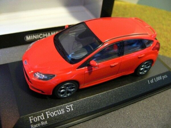 143 Minichamps Ford Focus ST 2011 ROSSO 410 081001