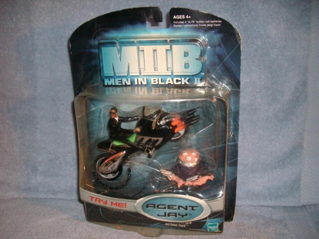 Men In Black Ii Mib 2 Agent Jay J Alien Pursiut Cycle Robot Squid 2002 Hasbro
