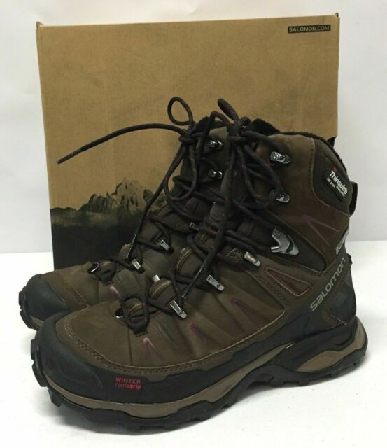 online retailer e6607 29458 Salomon Women's X Ultra Winter CS Waterproof W Snow Boots Brown Shoe Size 6  M