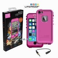 Lifeproof Fre Waterproof Dust Proof Case Cover Iphone 5/5s Magenta/dark Magenta