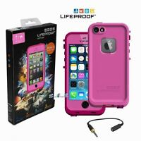 Lifeproof Fre Waterproof Dust Proof Case Cover Iphone 5/5s Magenta/dark Magenta